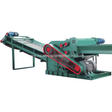 Building Template Crusher Machine For Wood Waste